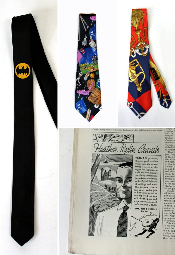 vintage ties from the 1980s and 1990s