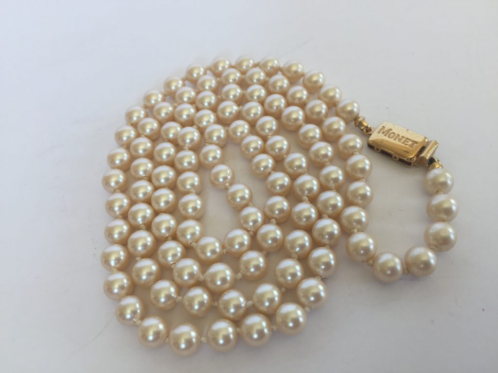 Pearls Are Always Appropriate Jackie Kennedy Vintage