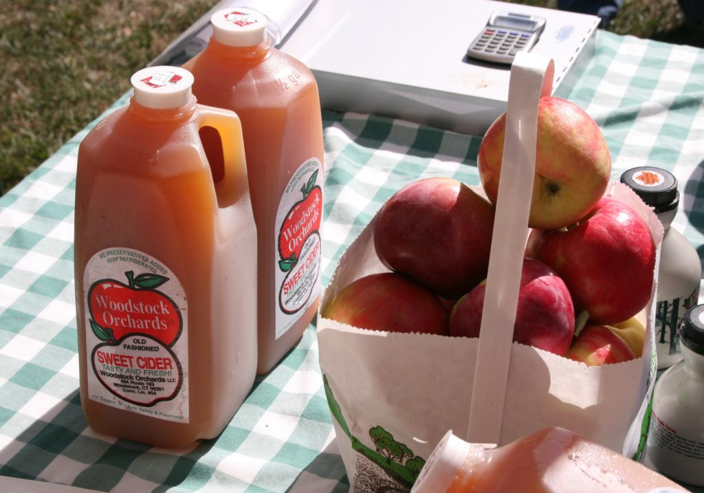 Get your cider and apples from a local orchard, farm stand or the farmers' market