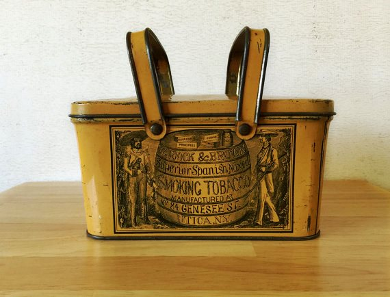 tin-warnick-and-brown-tobacco-lunch-pail