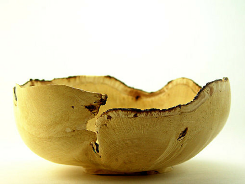 fig wood bowl