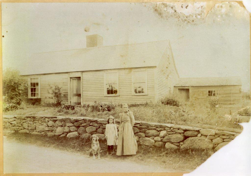 Our Old House in Central Massachusetts Some say I bear a strong resemblance to the woman...