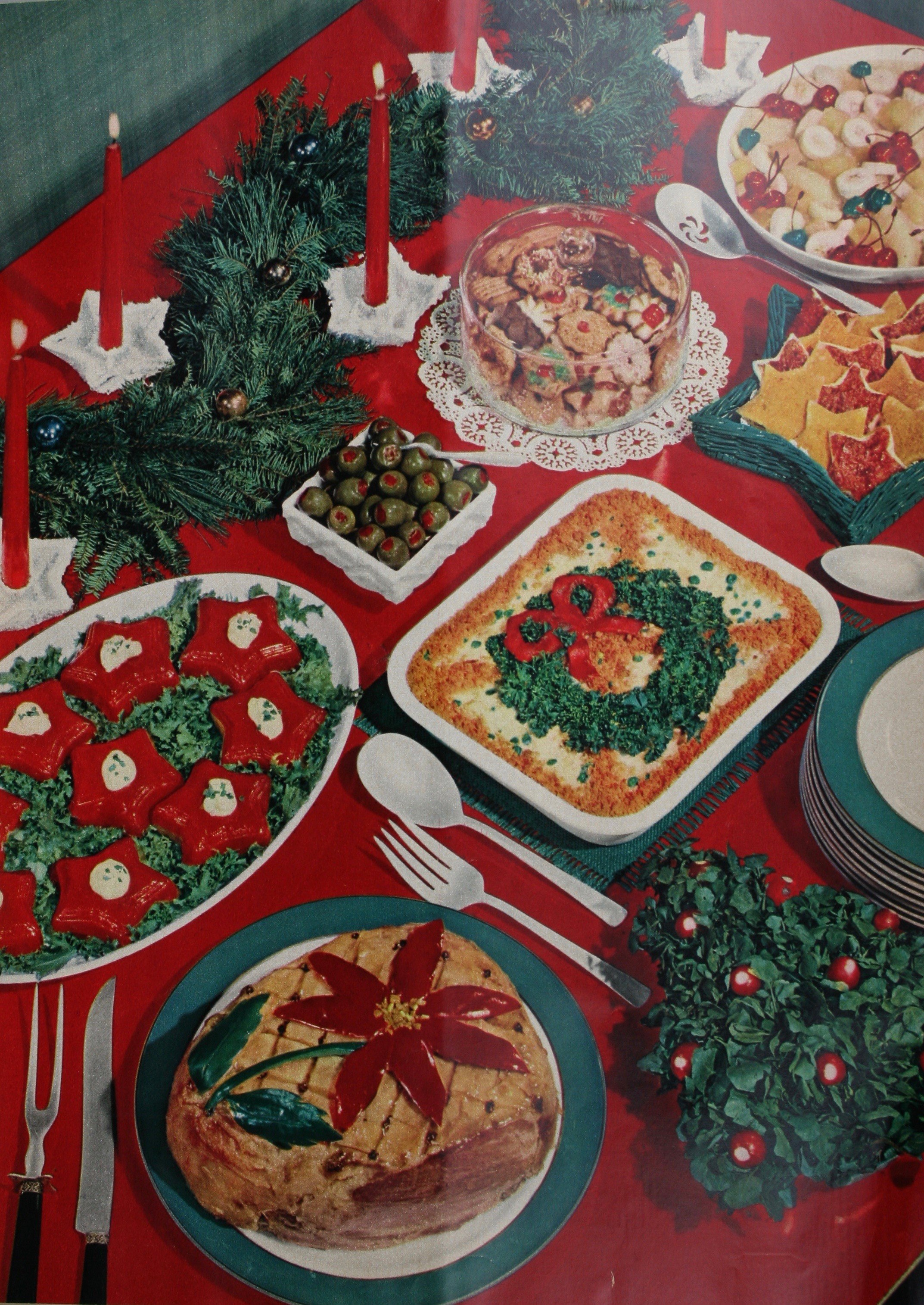 Having a party? Look at the scrumptious and colorful dishes you can make from the recipes included this month.